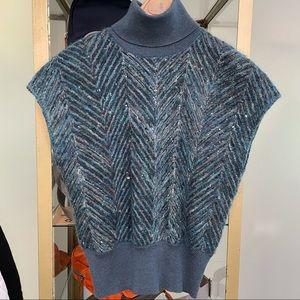Brunello Cucinelli Cashmere Short Sleeve Sweater